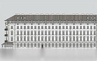 Lövőház utcai 12 lakásos tetőtérbeépítés